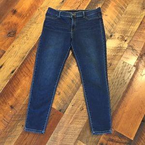 Juicy Couture Blue Denim Skinny Jeans